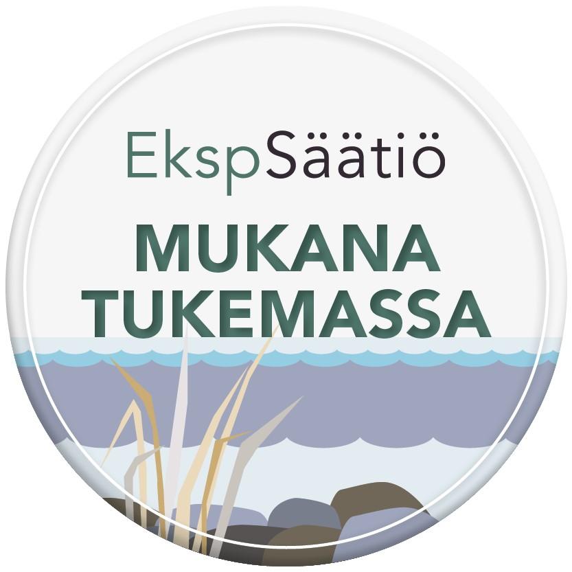 EkspSäätiö - pyöreä logo