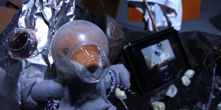 Kettu-astronautti Uudenmaan LUMA-päivillä
