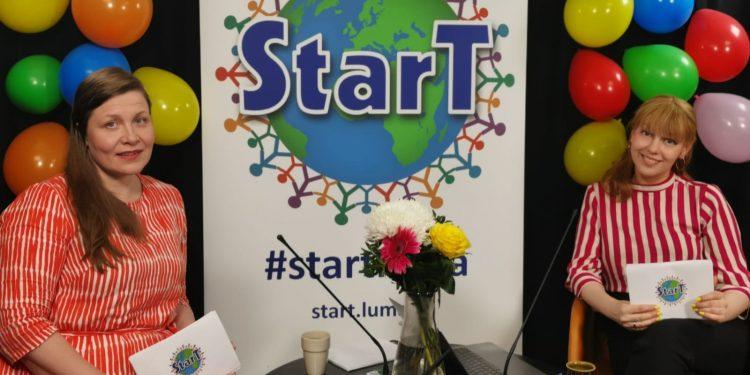 StarT-tiimiä StarT-gaalassa